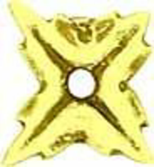 Picture of Backplate - Rectangular Raised Star