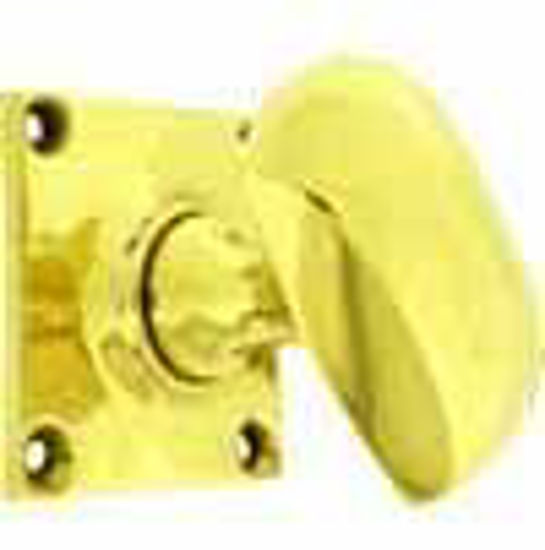 Picture of Knob - Square Backplate - Art Deco