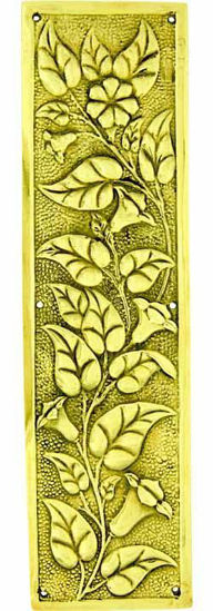 Picture of Fingerplate - Floral Raised