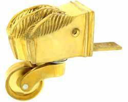 Picture of Castor - Claw Solid Brass Wheel