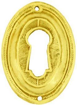Picture of Escutcheon - Raised Oval