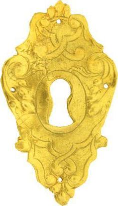 Picture of Escutcheon - Decorative Repousse