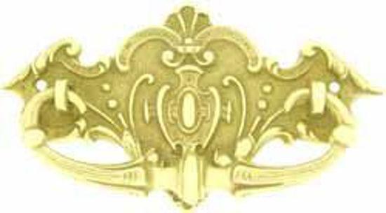 Picture of Handle - Plate - Loop - Edwardian