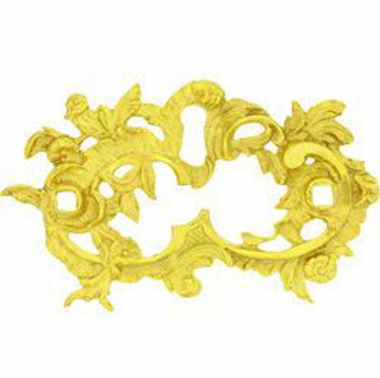 Picture of Handle Escutcheon Backplate - Rococo - Pierced