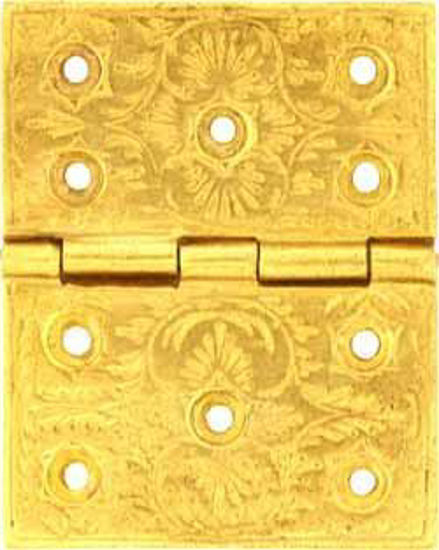 Picture of Hinge - Backflap - Engraved