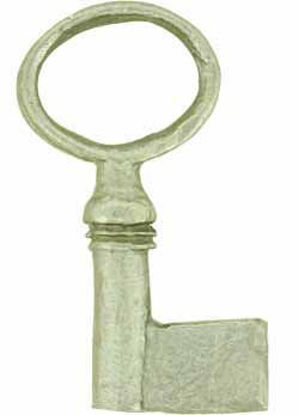 Picture of Key Blank - Kidney Bow - Sprue