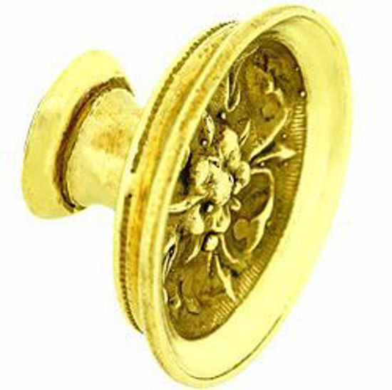 Picture of Knob - Decorative - Tudor Rose